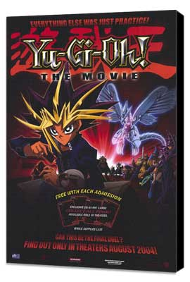 Yu-Gi-Oh! The Movie - 11 x 17 Movie Poster - Style A - Museum Wrapped Canvas