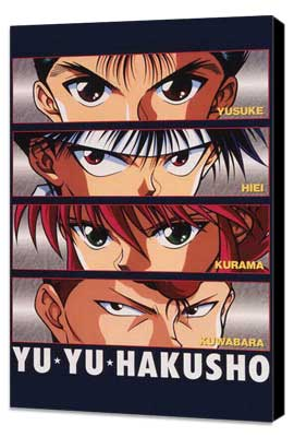 Yu yu hakusho - 11 x 17 Movie Poster - Japanese Style A - Museum Wrapped Canvas