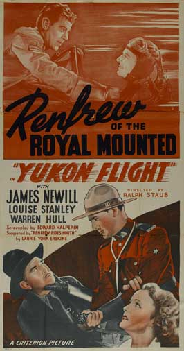 Yukon Flight - 20 x 40 Movie Poster - Style A