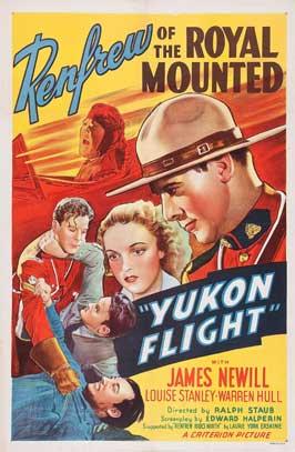 Yukon Flight - 27 x 40 Movie Poster - Style A