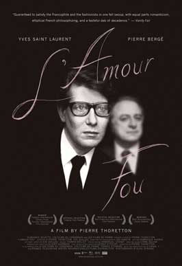 Yves Saint Laurent - Pierre Bergé, l'amour fou - 11 x 17 Movie Poster - Style A