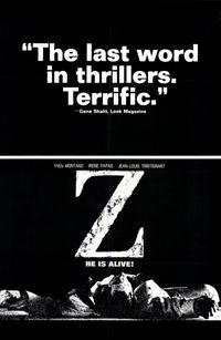 Z - 11 x 17 Movie Poster - Style C
