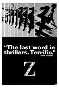 Z - 27 x 40 Movie Poster - Style B