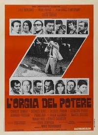 Z - 11 x 17 Movie Poster - Italian Style A