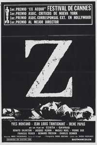 Z - 11 x 17 Movie Poster - Spanish Style B