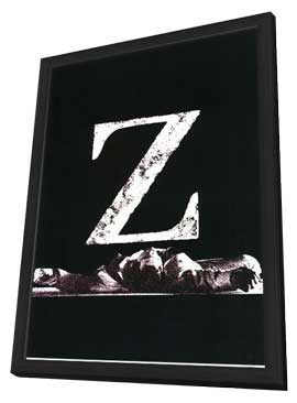 Z - 11 x 17 Movie Poster - Style A - in Deluxe Wood Frame