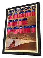 Zabriskie Point - 27 x 40 Movie Poster - Style A - in Deluxe Wood Frame