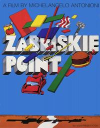 Zabriskie Point - 11 x 17 Movie Poster - Style B