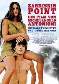 Zabriskie Point - 11 x 17 Movie Poster - German Style A