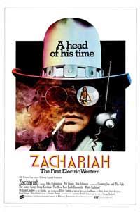Zachariah - 11 x 17 Movie Poster - Style A
