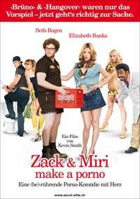 Zack and Miri Make A Porno - 11 x 17 Movie Poster - Swiss Style B