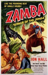 Zamba - 11 x 17 Movie Poster - Style A