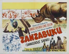 Zanzabuku - 11 x 14 Movie Poster - Style A