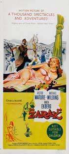 Zarak - 13 x 30 Movie Poster - Australian Style A