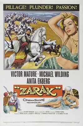 Zarak - 11 x 17 Movie Poster - Style A