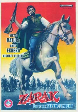 Zarak - 11 x 17 Movie Poster - Spanish Style A