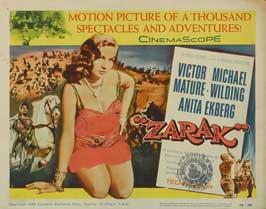 Zarak - 22 x 28 Movie Poster - Half Sheet Style A