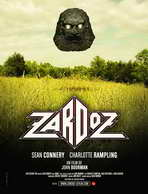 Zardoz - 27 x 40 Movie Poster - French Style A