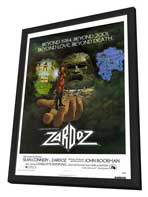 Zardoz - 27 x 40 Movie Poster - Style A - in Deluxe Wood Frame