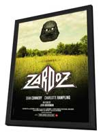 Zardoz - 27 x 40 Movie Poster - French Style A - in Deluxe Wood Frame