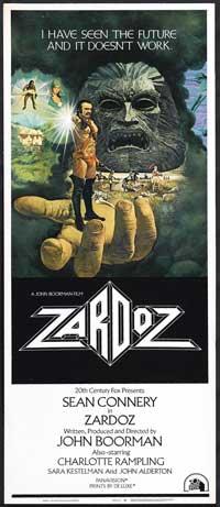 Zardoz - 14 x 36 Movie Poster - Insert Style A