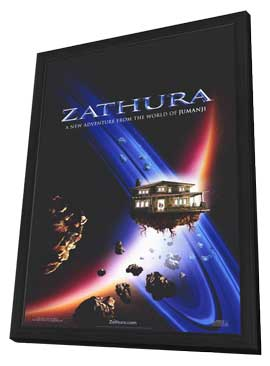 Zathura - 11 x 17 Movie Poster - Style A - in Deluxe Wood Frame