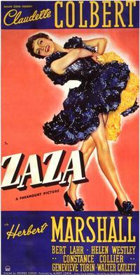 Zaza - 11 x 17 Movie Poster - Style A
