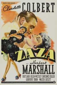 Zaza - 11 x 17 Movie Poster - Style B