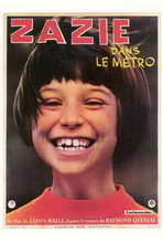 Zazie dans le Metro - 27 x 40 Movie Poster - Foreign - Style A