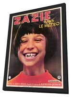 Zazie dans le Metro - 11 x 17 Poster - Foreign - Style A - in Deluxe Wood Frame