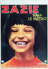 Zazie dans le m�tro - 11 x 17 Movie Poster - French Style A