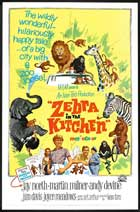 Zebra in the Kitchen - 11 x 17 Movie Poster - Style A
