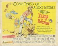 Zebra in the Kitchen - 11 x 14 Movie Poster - Style A