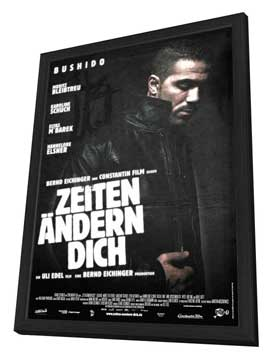 Zeiten Andern Dich - 27 x 40 Movie Poster - Swiss Style A - in Deluxe Wood Frame