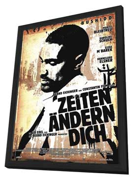 Zeiten Andern Dich - 11 x 17 Movie Poster - German Style B - in Deluxe Wood Frame