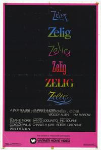 Zelig - 11 x 17 Movie Poster - Style B