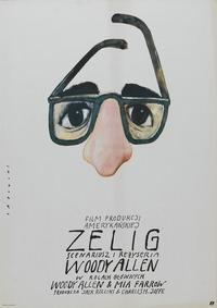 Zelig - 27 x 40 Movie Poster - Polish Style A
