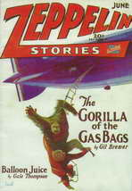 Zeppelin Stories (Pulp) - 11 x 17 Movie Poster - Style A