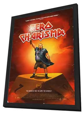 Zero Charisma - 27 x 40 Movie Poster - Style A - in Deluxe Wood Frame