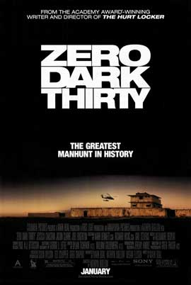 Zero Dark Thirty - DS 1 Sheet Movie Poster - Style B