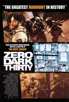 Zero Dark Thirty - 27 x 40 Movie Poster - Style D