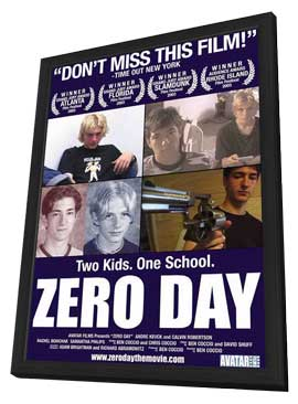 Zero Day - 11 x 17 Movie Poster - Style A - in Deluxe Wood Frame