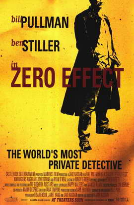 Zero Effect - 11 x 17 Movie Poster - Style A