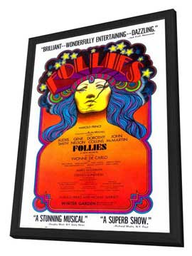 Ziegfeld Follies (Broadway) - 27 x 40 Poster - Style A - in Deluxe Wood Frame