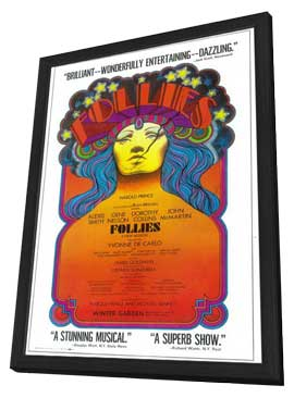 Ziegfeld Follies (Broadway) - 11 x 17 Poster - Style A - in Deluxe Wood Frame