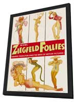 Ziegfeld Follies - 27 x 40 Movie Poster - Style C - in Deluxe Wood Frame