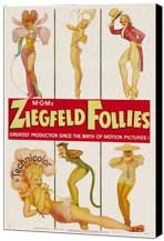 Ziegfeld Follies - 11 x 17 Museum Wrapped Canvas