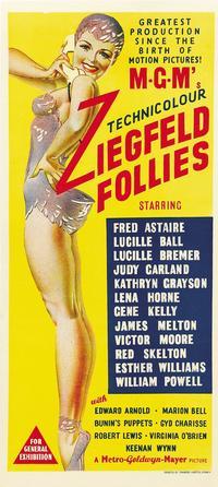 Ziegfeld Follies - 14 x 36 Movie Poster - Australian Style A