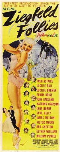 Ziegfeld Follies - 14 x 36 Movie Poster - Insert Style A