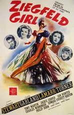 Ziegfeld Girl - 11 x 17 Movie Poster - Style A